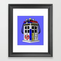 Tardis-1 Framed Art Print