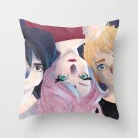 Immortals Throw Pillow