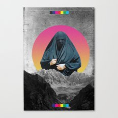 HERE I COME Canvas Print