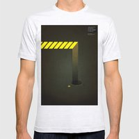 Asphalt: Facebook Shapes & Statuses Mens Fitted Tee Ash Grey SMALL