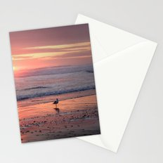 Sunset at Cannon Beach Oregon Stationery Cards