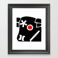 Zelonicus Cow Framed Art Print