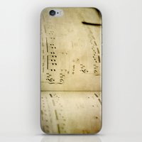 Passions Unsung II iPhone & iPod Skin