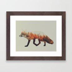 Norwegian Woods: The Fox Framed Art Print