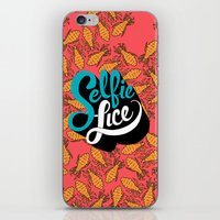 Selfie Lice iPhone & iPod Skin
