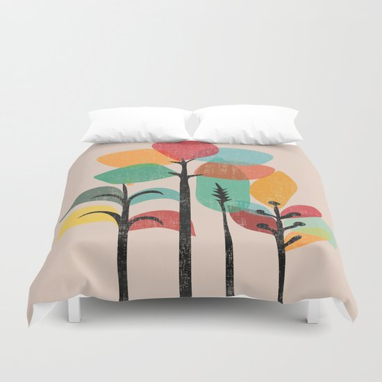 Tropical Groove Duvet Cover