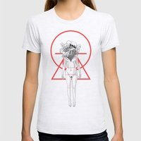 Flowering Womens Fitted Tee Ash Grey SMALL