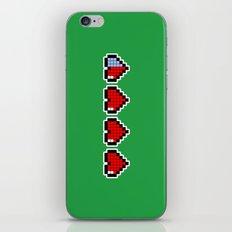 Pixel Hearts iPhone & iPod Skin
