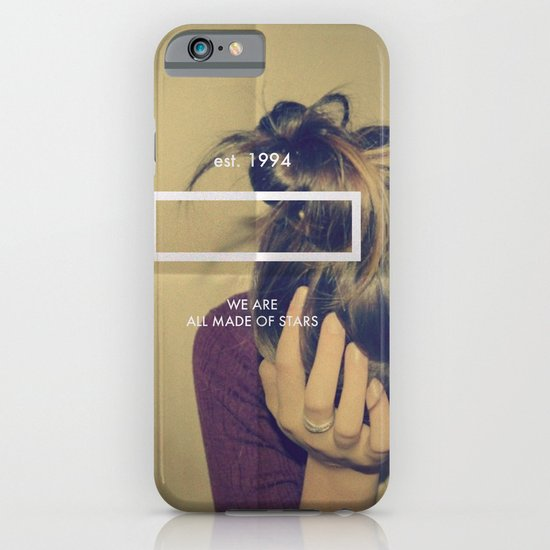 MADE OF STARS iPhone & iPod Case