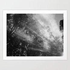 Smoke Signals 2 Art Print