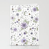 Violetas Stationery Cards