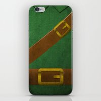 Video Game Poster: Adventurer iPhone & iPod Skin