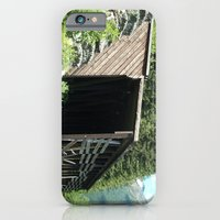 iPhone & iPod Case featuring Snow Shed by NoelleB