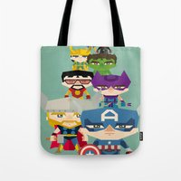 Avengers 2 Fan Art Tote Bag