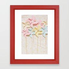 pinwheels Framed Art Print