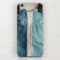 Doll Closet Series - Blue Dress iPhone & iPod Skin