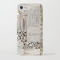 wood iPhone & iPod Cases featuring Wood by LebensART