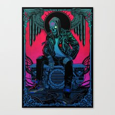 The Ghost of Dead Motor City Canvas Print