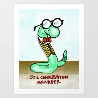 Soil Conservation Manage… Art Print