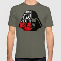 I Find Your Lack Of Fait… Mens Fitted Tee Lieutenant SMALL