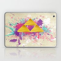 Splash Triforce Laptop & iPad Skin