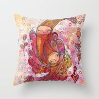 old friends are gold Throw Pillow