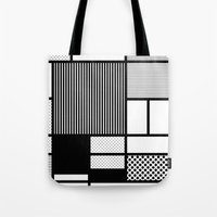 Composition With Black, … Tote Bag
