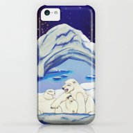 Peaceful Polar Bears iPhone 5c Slim Case