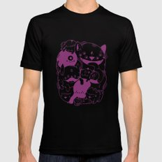 The living dream SMALL Black Mens Fitted Tee