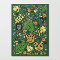 Jungle Cubs Canvas Print