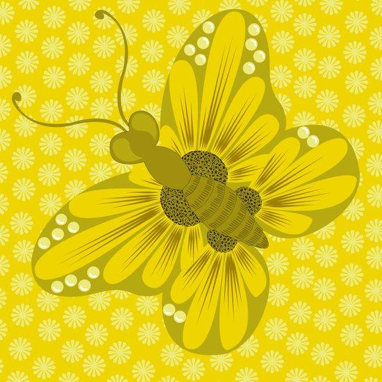 daisy 4 Art Print