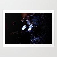 Blacklight Art Print