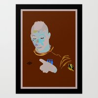 Mario Balotelli - IBWM - The 100 Art Print