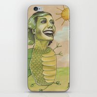 SUNSHINE DINO iPhone & iPod Skin