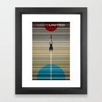 MarsUnited Liftoff Framed Art Print