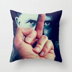 AntiHitler Throw Pillow