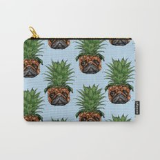 Pineapple Pug  Carry-All Pouch