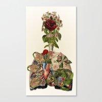 Inhale Life, Exhale Love… Canvas Print