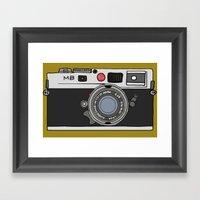 Camera, 2 Framed Art Print