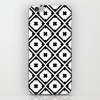 Graphic_Tile Black&White iPhone & iPod Skin