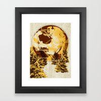 Thoughts Of A Pint Framed Art Print