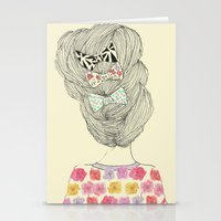 I Love Bows Stationery Cards
