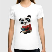 panda T-shirts featuring Panda by gunberk
