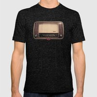 Radio-head Mens Fitted Tee Tri-Black SMALL