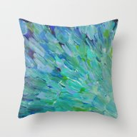 SEA SCALES - Beautiful O… Throw Pillow