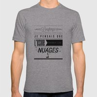 L'usine Mens Fitted Tee Athletic Grey SMALL