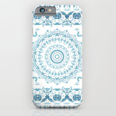 In Blue (Pattern Mandala) Slim Case iPhone 6s