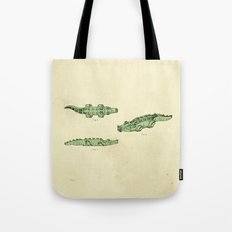 Lego Crocodile  Tote Bag