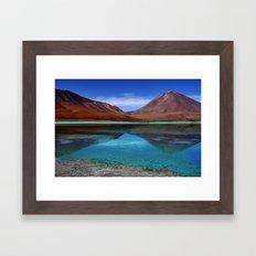 Laguna Verde Framed Art Print
