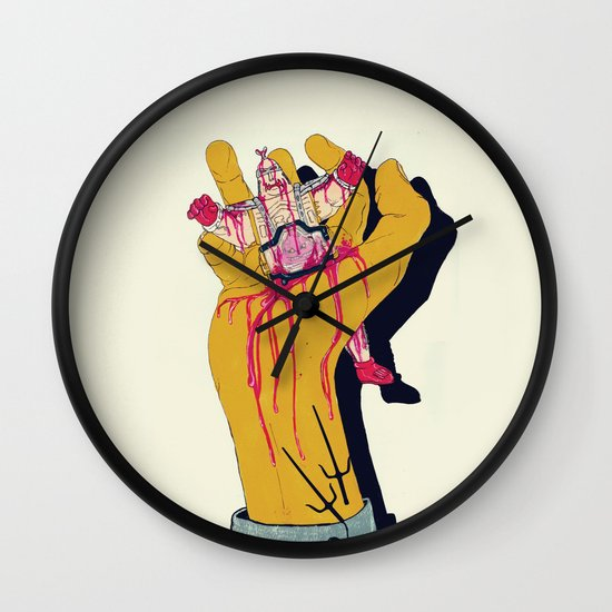 You botched it! You botched it! Wall Clock